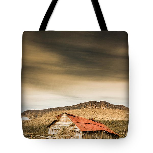 Regional Ranch Ruins Tote Bag