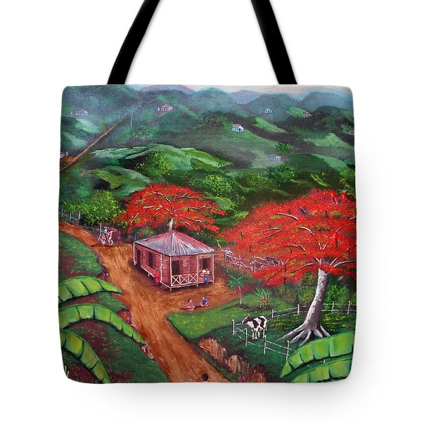 Regreso Al Campo Tote Bag by Luis F Rodriguez