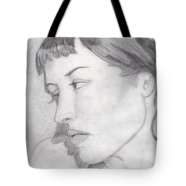 Regret Tote Bag by Jean Haynes