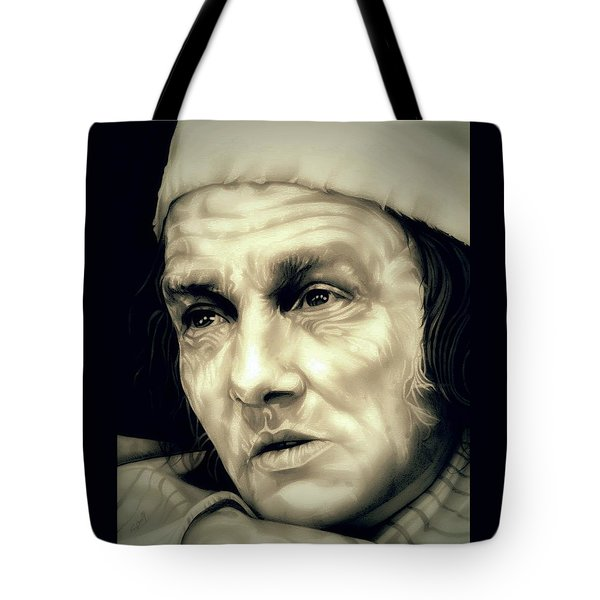 Regret Scrooge Tote Bag by Fred Larucci