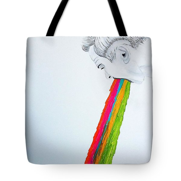 Regurgitate Tote Bag