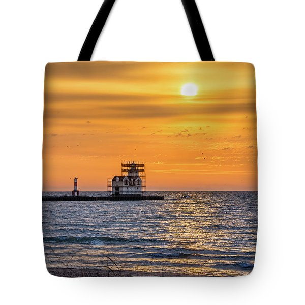 Tote Bag featuring the photograph Rehabilitation Rising by Bill Pevlor