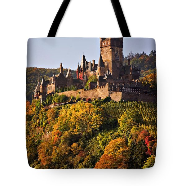 Reichsburg Castle Tote Bag by Louise Heusinkveld