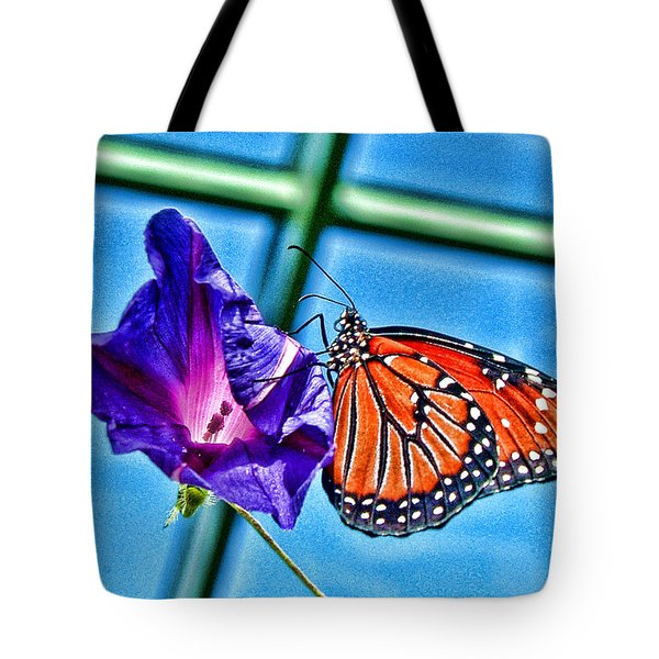 Reigning Monarch Tote Bag