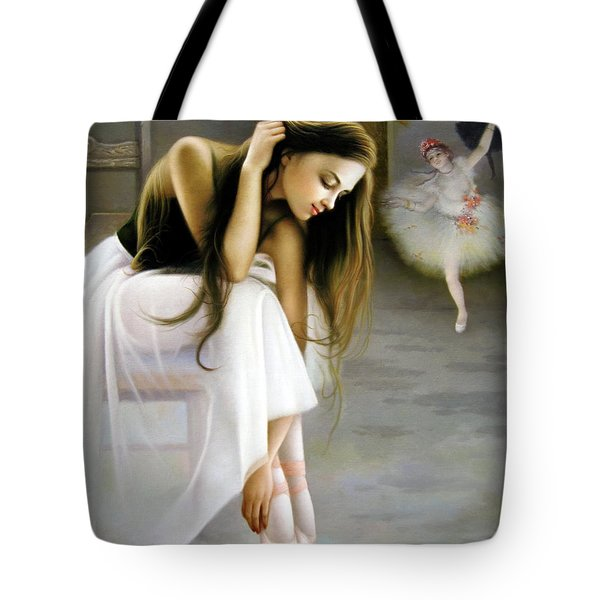 Reincarnated Of A Star Tote Bag