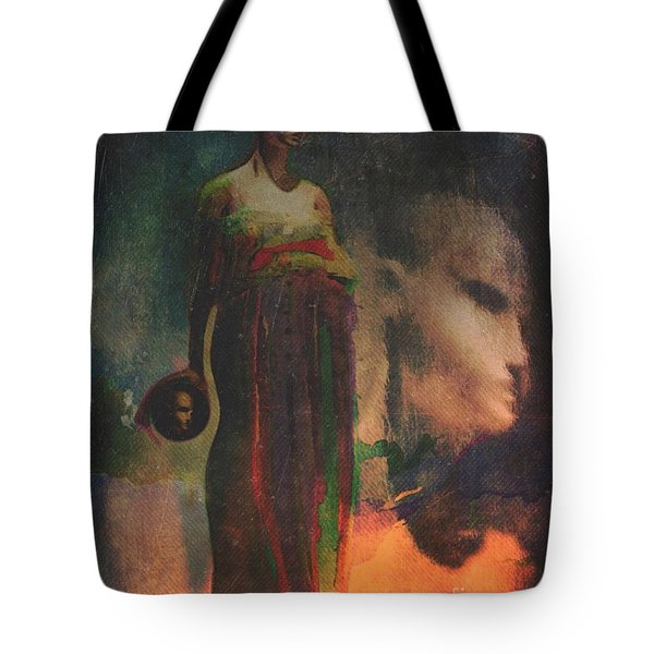 Tote Bag featuring the digital art Reincarnation by Alexis Rotella