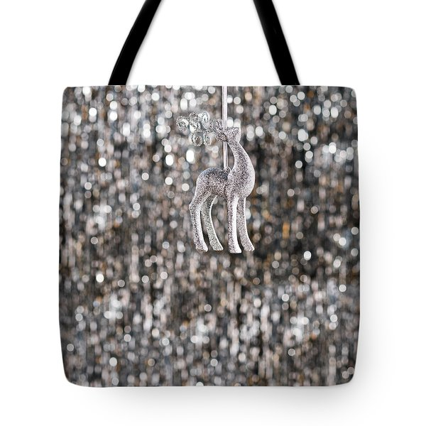 Tote Bag featuring the photograph Reindeer  by Ulrich Schade