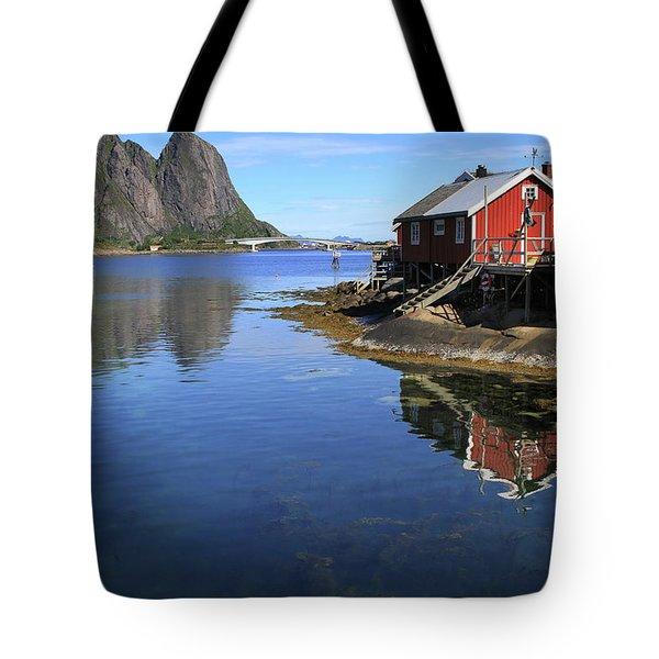 Reine, Norway Tote Bag