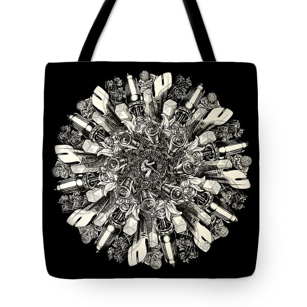 Reinventing The Wheel Tote Bag