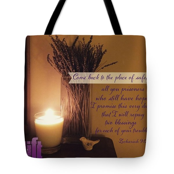 Rejoice, O People Of Zion!  Shout In Tote Bag