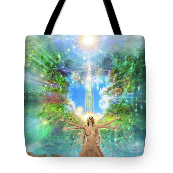 Rejoice-thy-young II Tote Bag