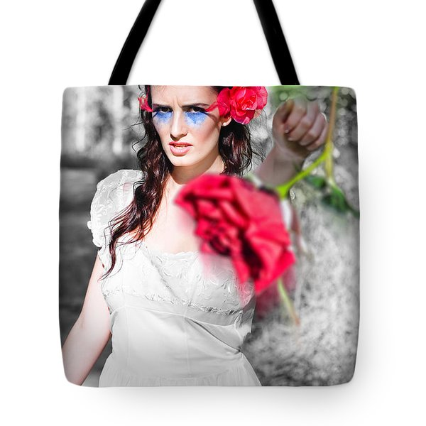 Tote Bag featuring the photograph Relationship Problems by Jorgo Photography - Wall Art Gallery