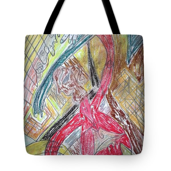 Relax. Dance Tote Bag