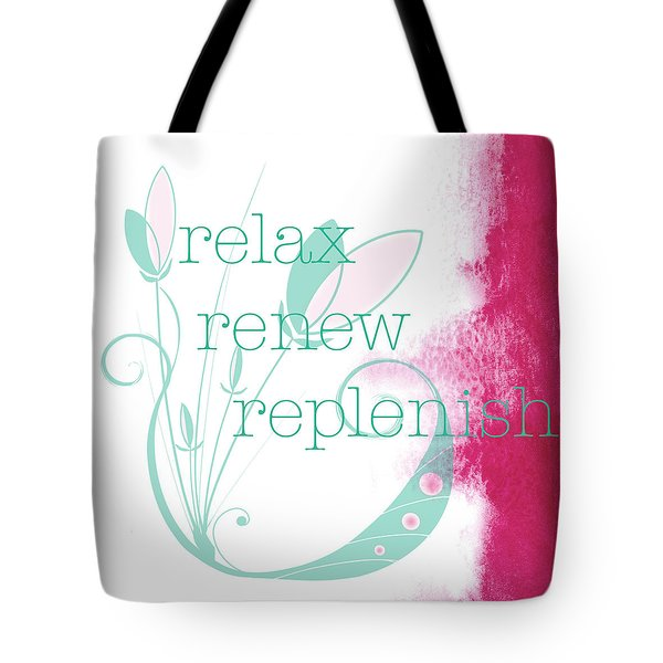 Relax  Tote Bag by Kandy Hurley