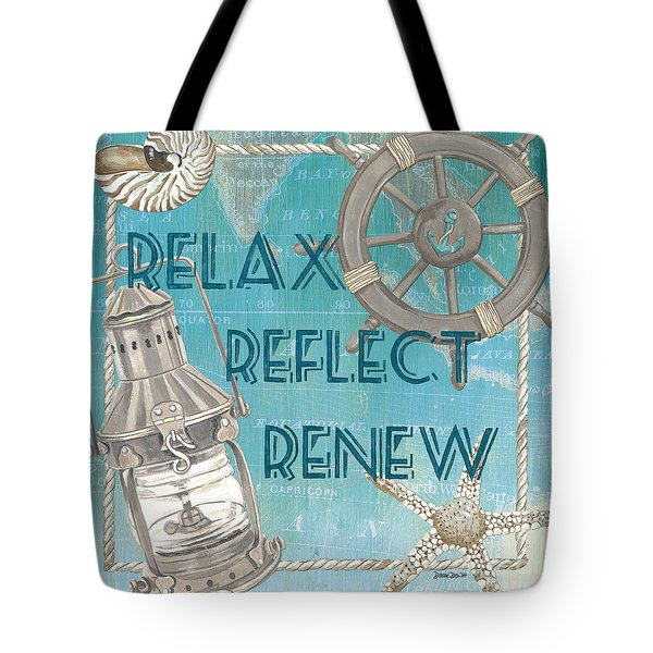 Relax Reflect Renew Tote Bag