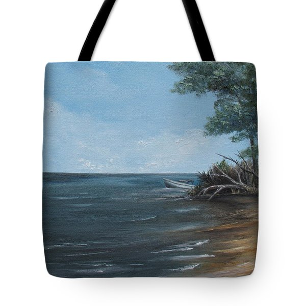 Relaxation Island Tote Bag
