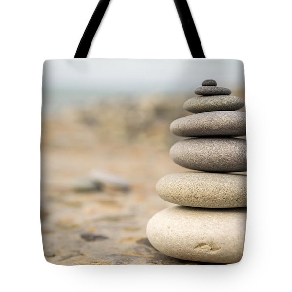 Tote Bag featuring the photograph Relaxation Stones by John Williams