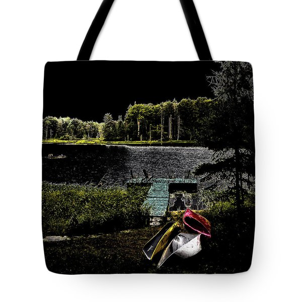 Tote Bag featuring the photograph Relaxing By Moonlight by David Patterson