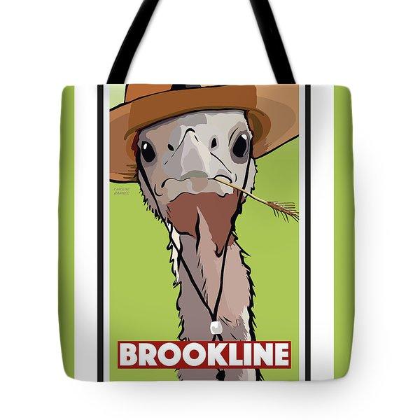 Relaxing In Brookline Tote Bag