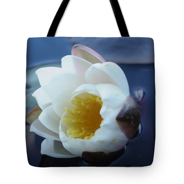 Relaxing In The Pond Tote Bag by Martha Ayotte