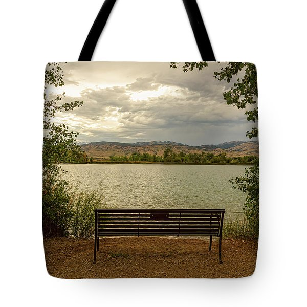 Tote Bag featuring the photograph Relaxing View by James BO Insogna