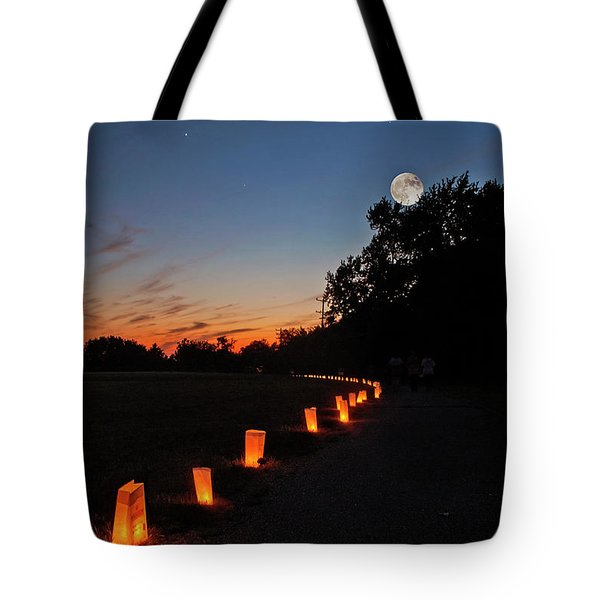 Relay  For Life Tote Bag
