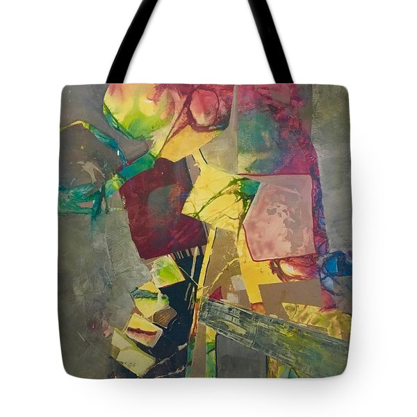 Relay The Force Pattern Tote Bag