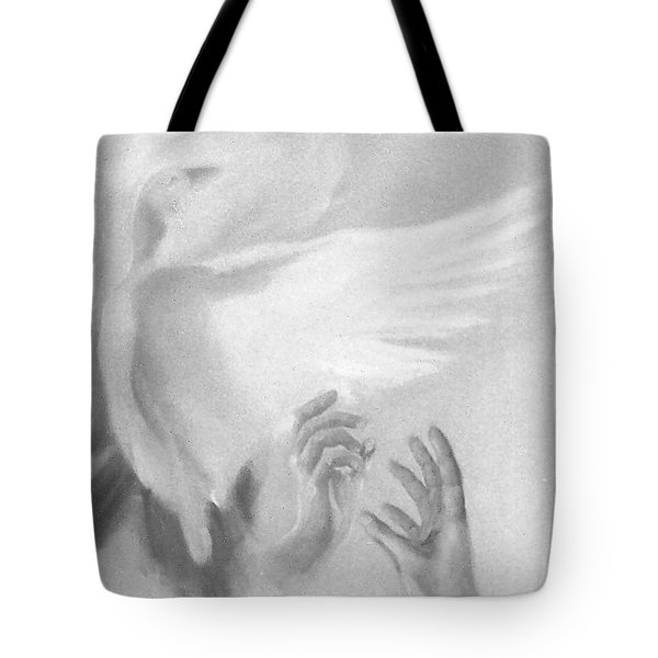 Release Tote Bag by Denise Fulmer