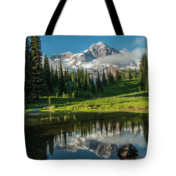 Relected Image Tote Bag