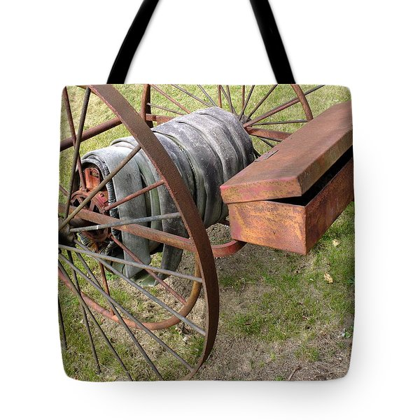 Relic Fire Hose Tote Bag by Scott Kingery