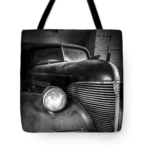 Old Car - Blue Ridge Mountains Tote Bag