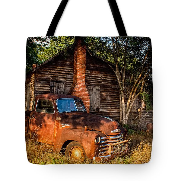 Relics Of The Past Tote Bag by Sussman Imaging