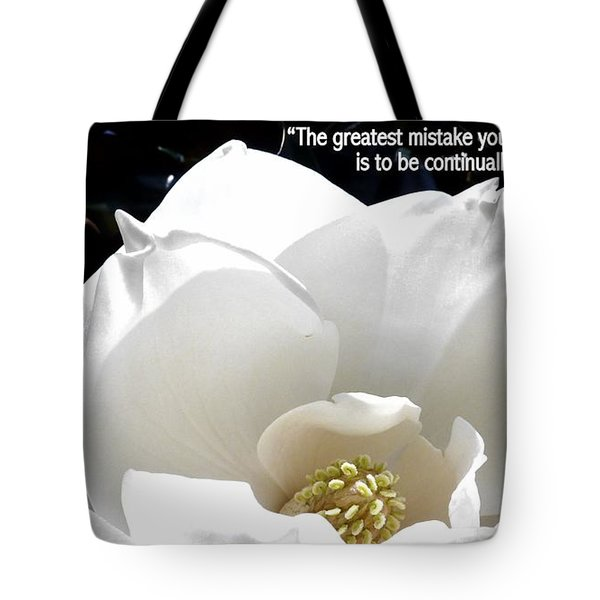 Relief 2, With Quote.  Tote Bag