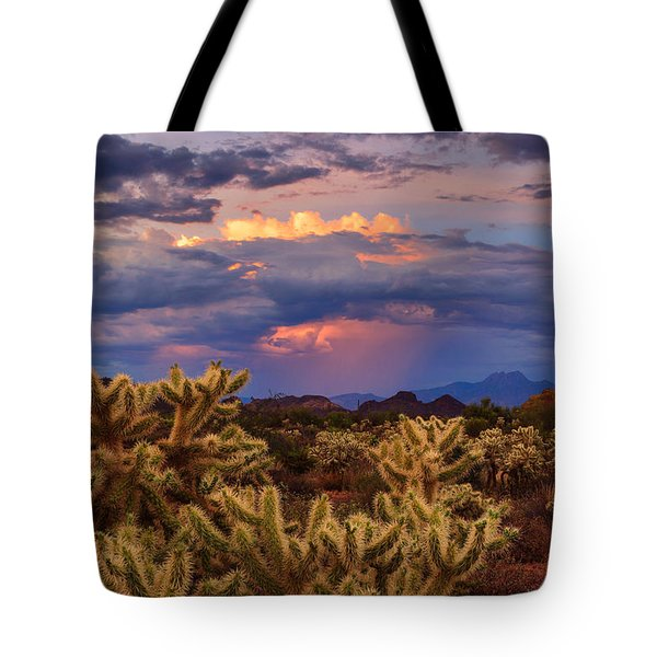 No Longer A Weary Night Tote Bag