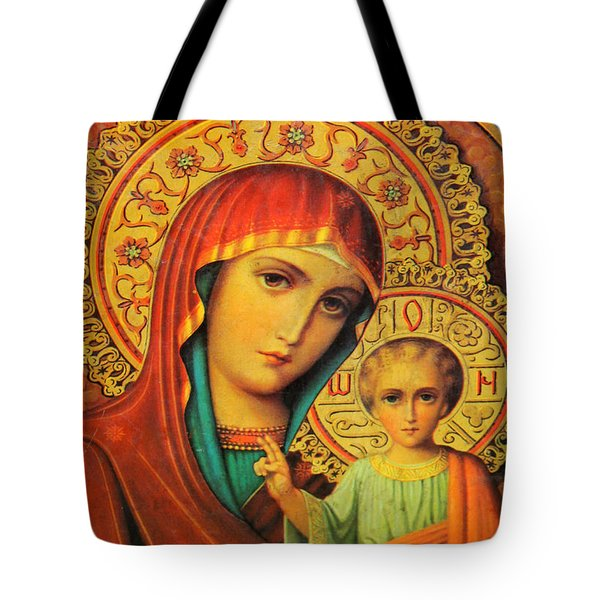 Religion In Red Tote Bag