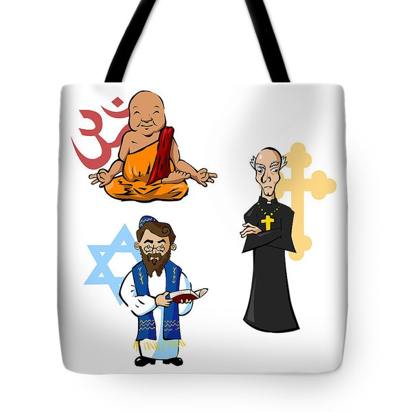 Religious Icons Tote Bag