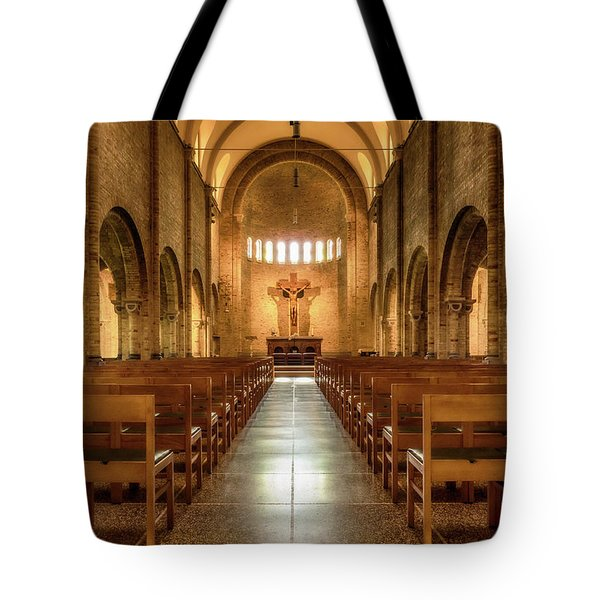 Religious Path Tote Bag