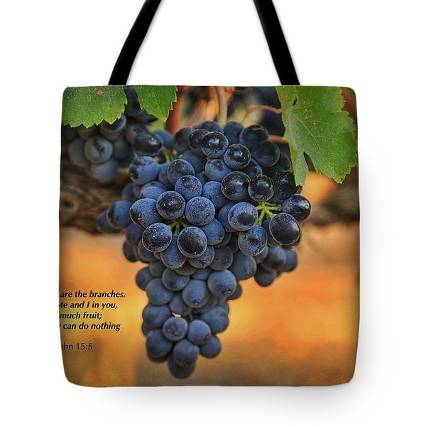 Remain In Me Tote Bag