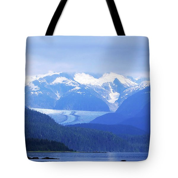 Remains Of A Glacier Tote Bag