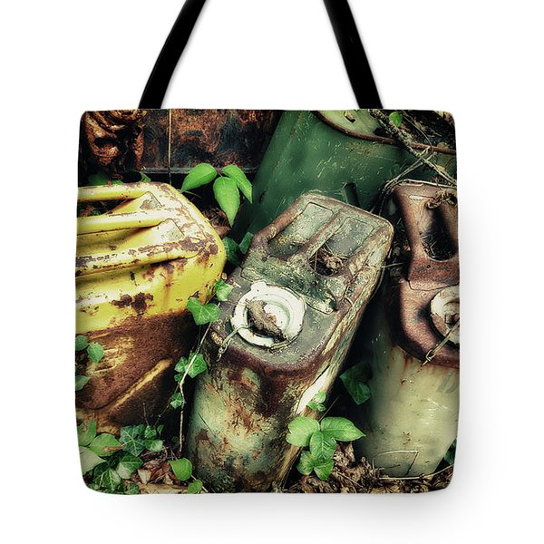 Remains Of The Day - Camp Mountain Lake Tote Bag