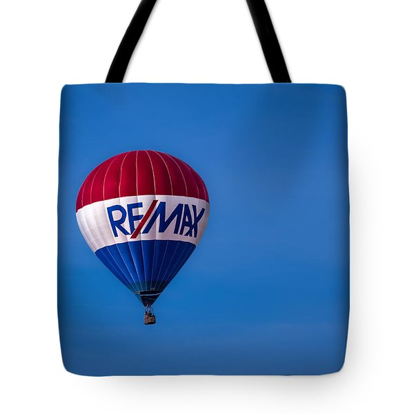 Remax Hot Air Balloon Tote Bag