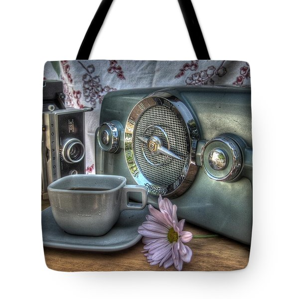 Remember The Past Tote Bag by Jane Linders