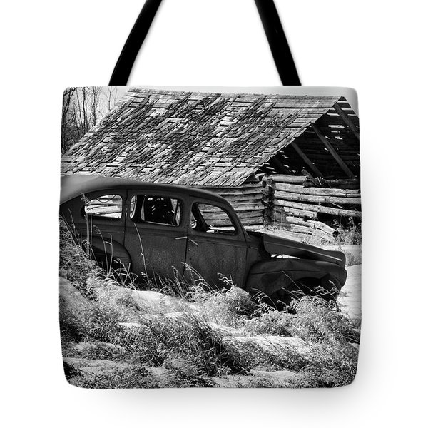 Remember The Past Work For The Future Tote Bag by Bob Christopher
