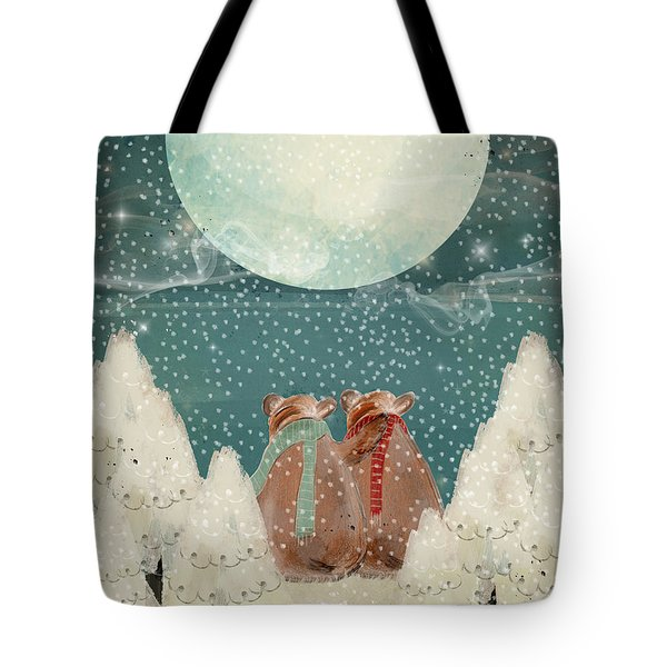 Tote Bag featuring the painting Remember The Time by Bri B