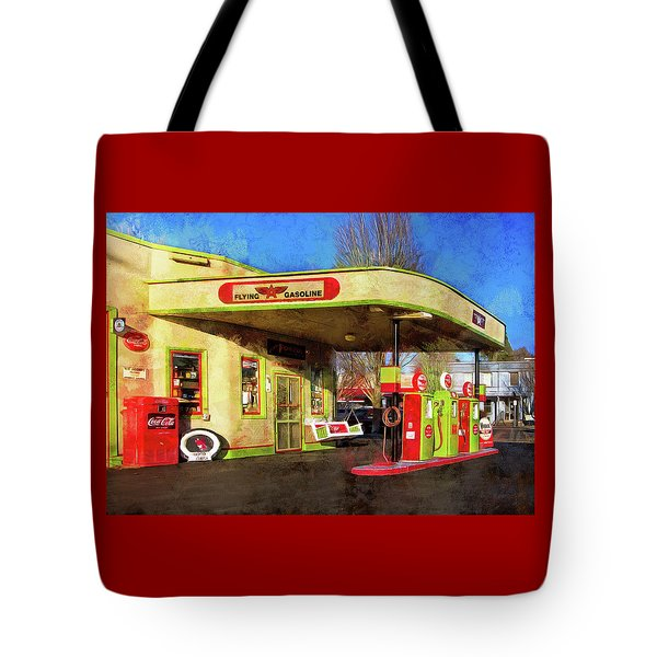 Tote Bag featuring the photograph Remember When There Was Service by Thom Zehrfeld