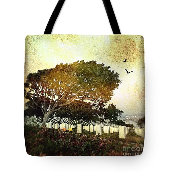 Remembering At Point Loma Tote Bag
