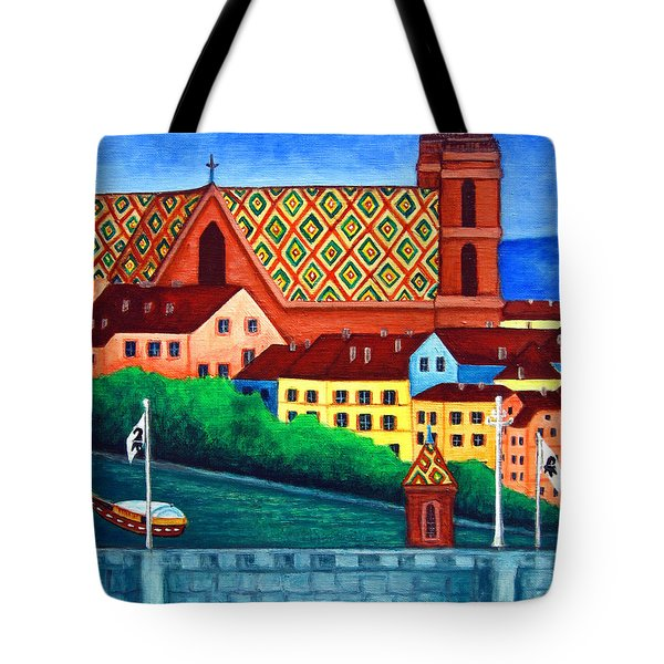 Remembering Basel Tote Bag