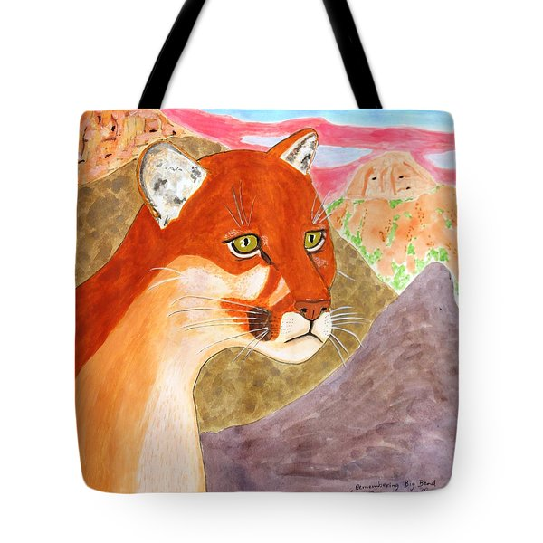 Remembering Big Bend Tote Bag