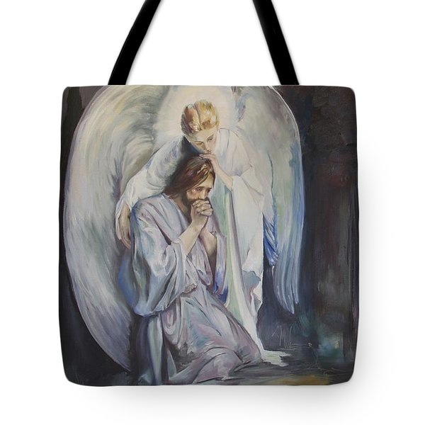 Tote Bag featuring the painting Remembering Experiencing Being There by Jane Autry