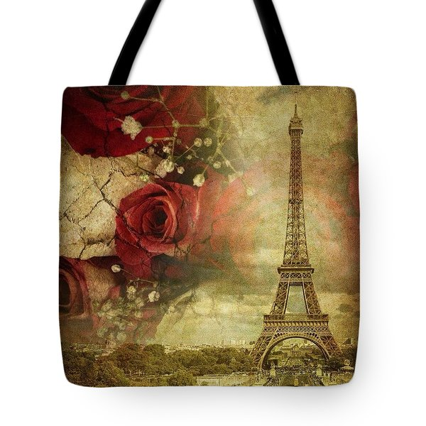 Remembering Paris Tote Bag